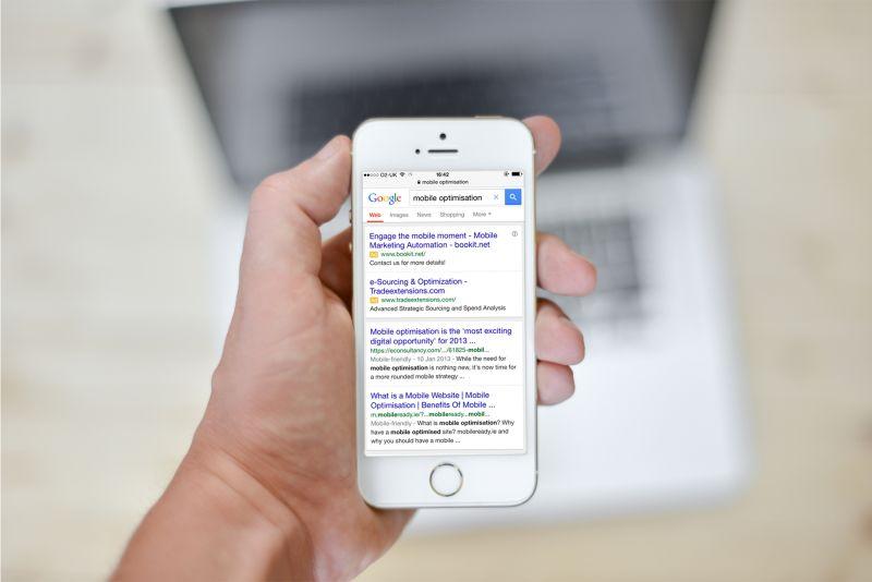 Google now penalising non Mobile-ready websites