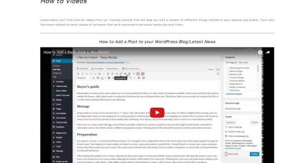 Online Training Videos