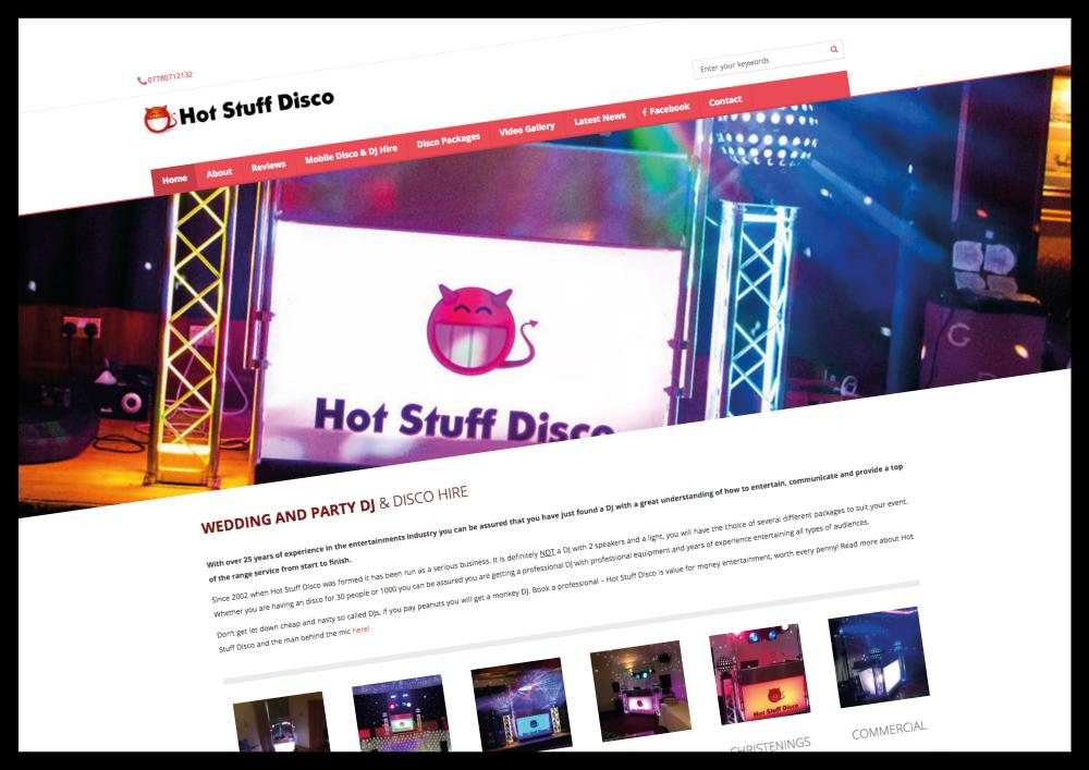 Google Page One Ranking DJ Business