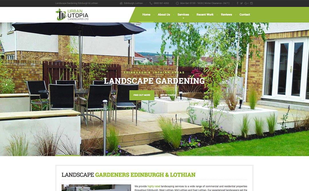 Urban Utopia Landscapes - Web Designers in Edinburgh